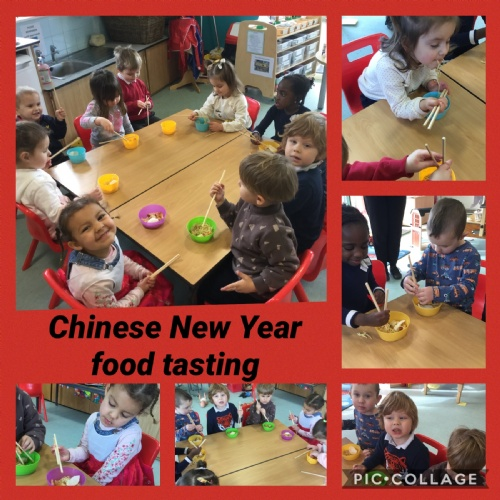 Exploring Chinese New Year in Nursery